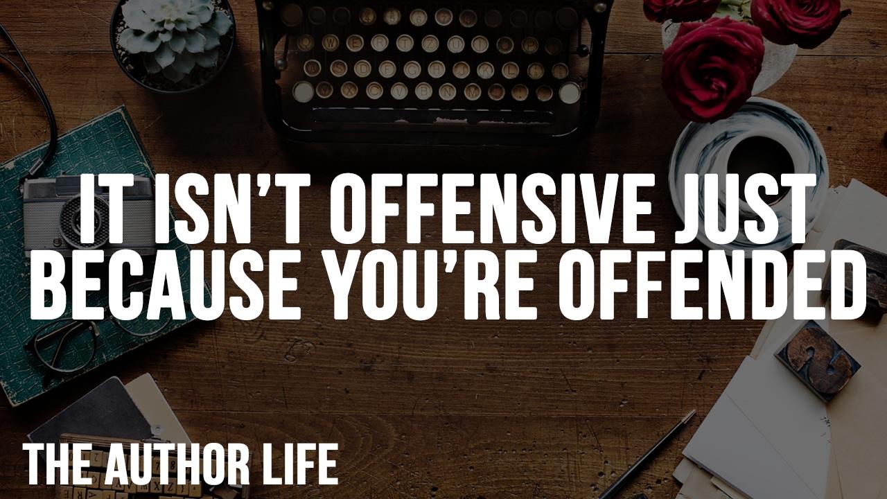 it isn't offensive