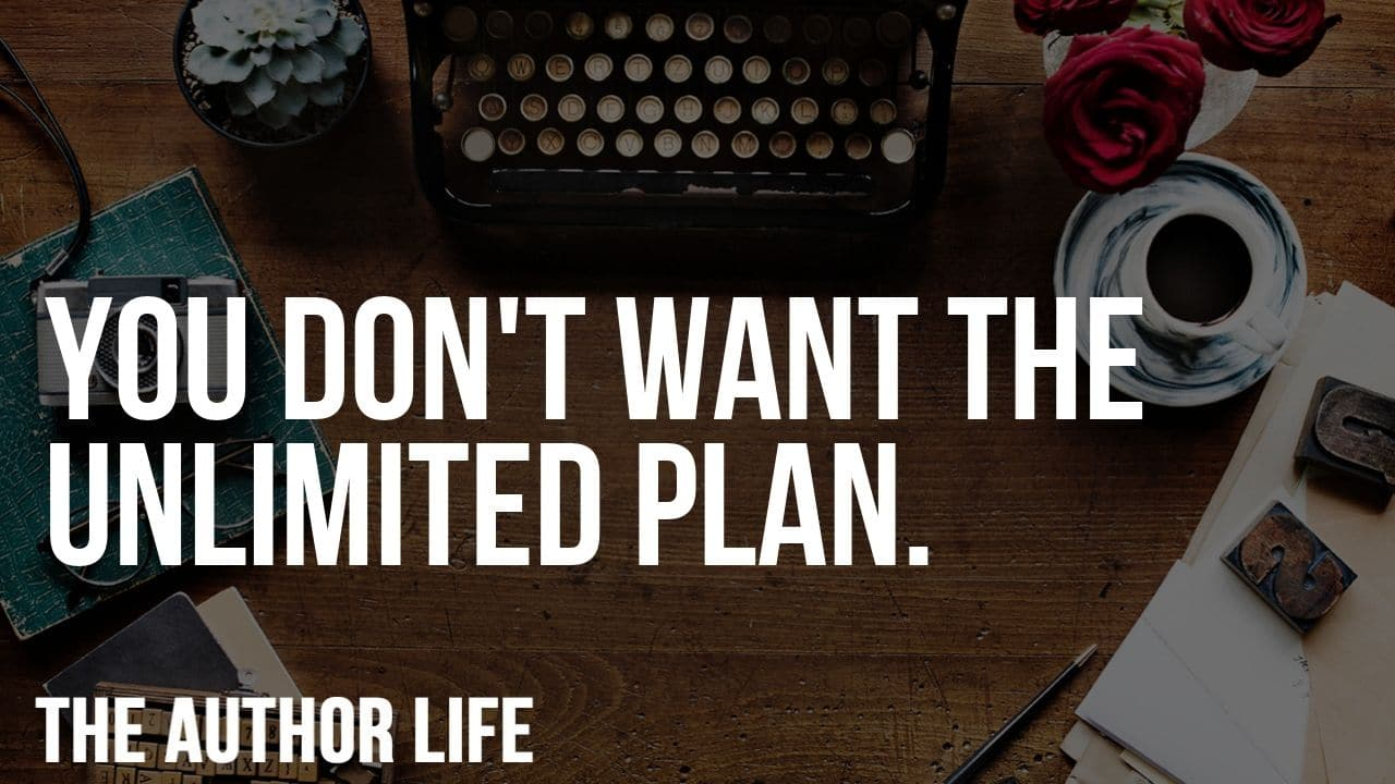 the unlimited plan